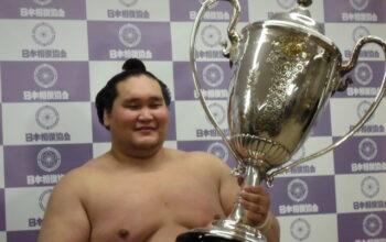 令和3年5月場所千秋楽 大関照ノ富士関4度目の幕内優勝